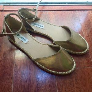 Steve Madden Gold Annee Espadrille sandals